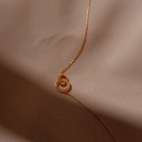 "Necklace ""Circle"""