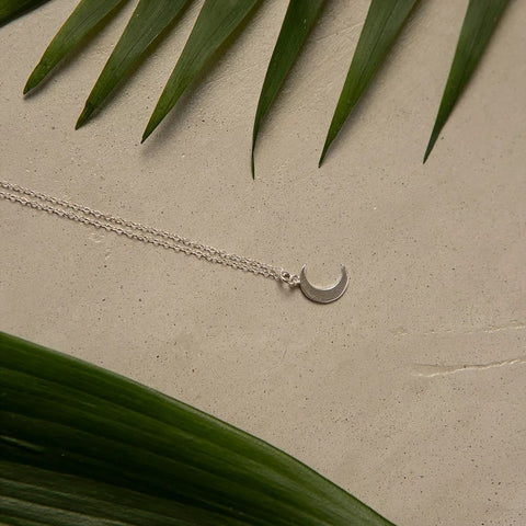 "Necklace ""Crescent"""