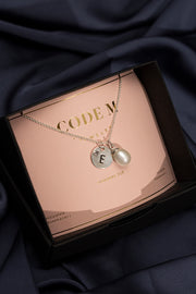 "Necklace ""Pearl"" with engraving"