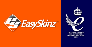 EasySkinz honoured with the Queen's Award For Enterprise