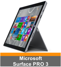 Microsoft Surface Pro 3 Skins Wraps Decals Protectors Stickers Covers by EasySkinz