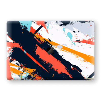 "MacBook Pro 15"" Touch Bar Print Custom Signature Abstract Paitning 4 Skin Wrap Decal by EasySkinz - Design 4"