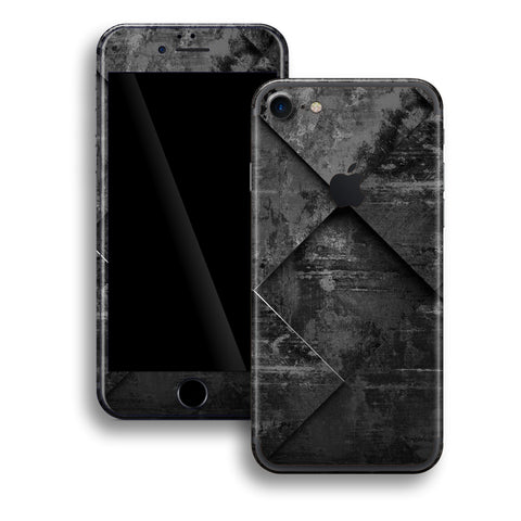iPhone 7 Print Custom Signature Black Tiles Skin Wrap Decal by EasySkinz