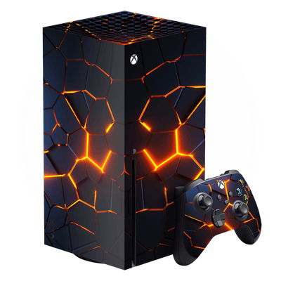 XBOX Series X SIGNATURE THE CORE Skin, Wrap, Decal, Protector, Cover by EasySkinz | EasySkinz.com