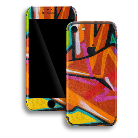 iPhone 7 Print Custom Signature Graffiti Skin Wrap Decal by EasySkinz