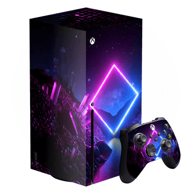 XBOX Series X SIGNATURE CYBER PLANET Skin, Wrap, Decal, Protector, Cover by EasySkinz | EasySkinz.com