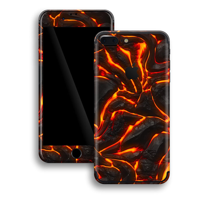 iPhone 7 PLUS Print Custom Signature Lava Skin Wrap Decal by EasySkinz