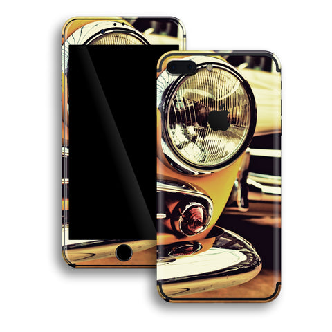 iPhone 7 PLUS Print Custom Signature NY TAXI Skin Wrap Decal by EasySkinz