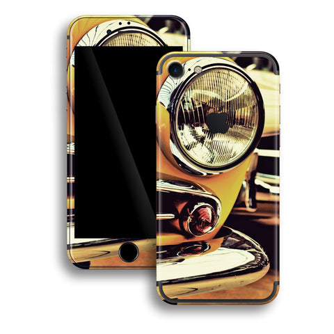 iPhone 7 Print Custom Signature NY TAXI New York Taxi Retro Car Skin Wrap Decal by EasySkinz