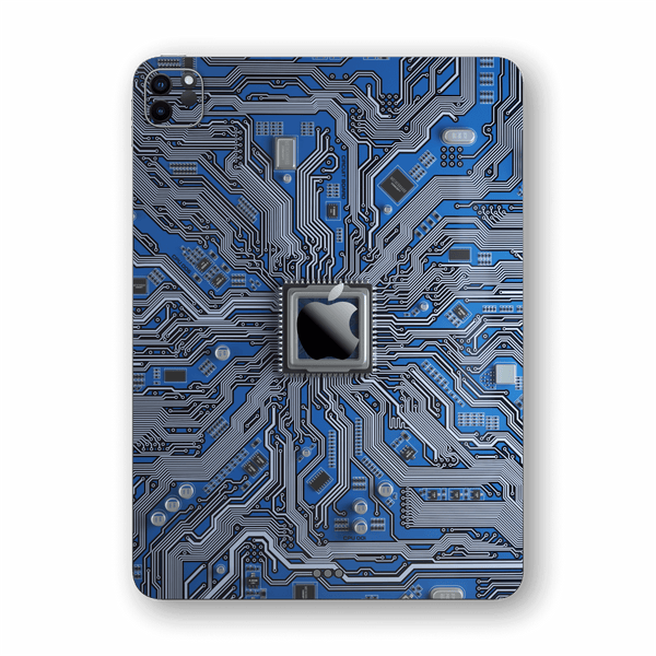 "iPad PRO 11"" (2020) Print Custom SIGNATURE PCB BOARD Skin, Wrap, Decal, Protector, Cover by EasySkinz 