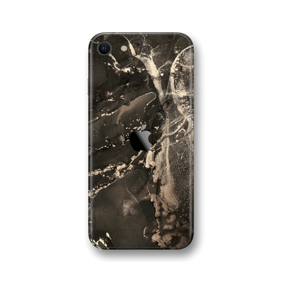 iPhone SE (2020) SIGNATURE AGATE GEODE Lunar Dust Dark Skin, Wrap, Decal, Protector, Cover by EasySkinz | EasySkinz.com