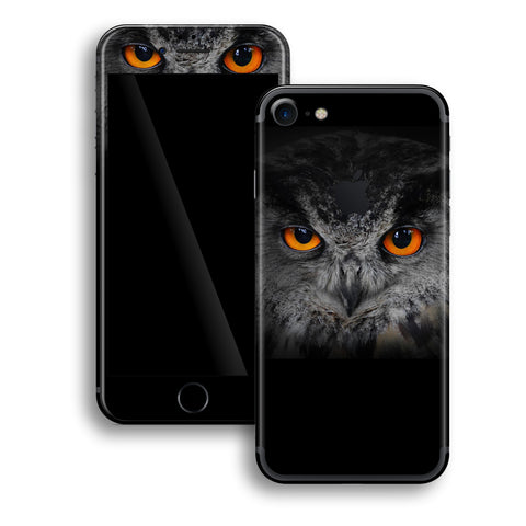iPhone 7 Print Custom Signature OWL Skin Wrap Decal by EasySkinz
