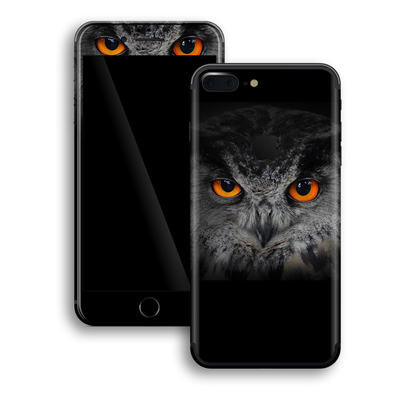 iPhone 7 PLUS Print Custom Signature OWL Skin Wrap Decal by EasySkinz