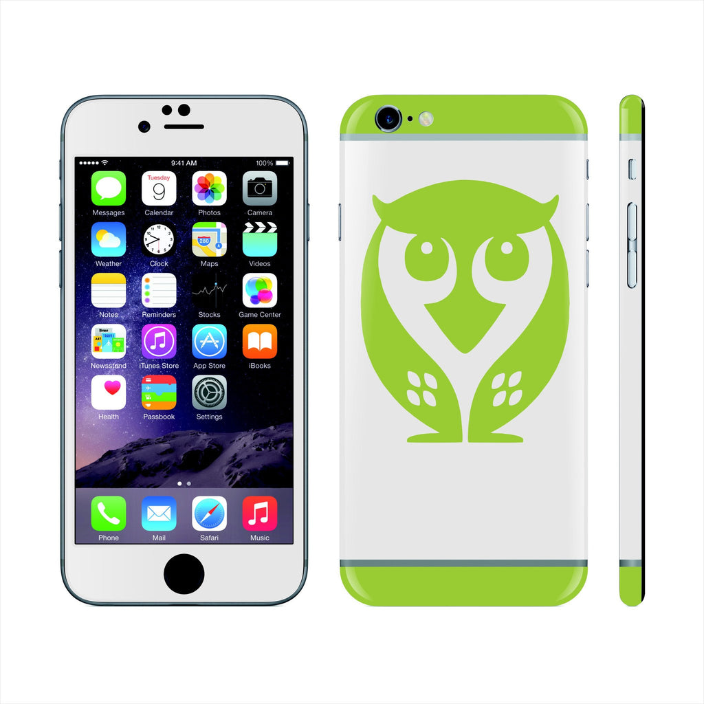 iPhone 6S PLUS Custom Colorful Design Edition OWL 010 Skin Wrap Sticker Cover Decal Protector by EasySkinz