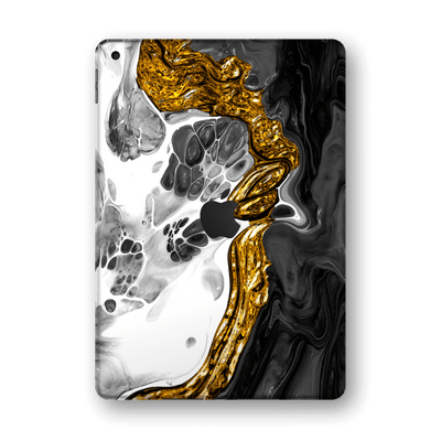 "iPad 10.2"" (8th Gen, 2020) SIGNATURE Abstract MELTED Gold Skin Wrap Sticker Decal Cover Protector by EasySkinz"