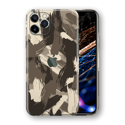 iPhone 11 PRO SIGNATURE Brush Camouflage DESERT Skin, Wrap, Decal, Protector, Cover by EasySkinz | EasySkinz.com