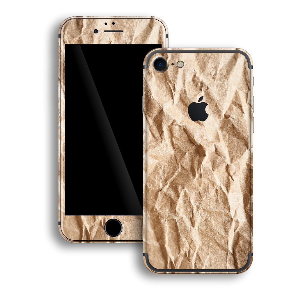iPhone 7 Print Custom Signature Paper Skin Wrap Decal by EasySkinz