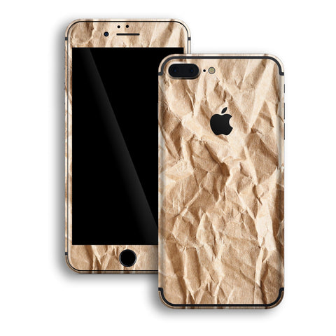 iPhone 7 PLUS Print Custom Signature PAPER Skin Wrap Decal by EasySkinz