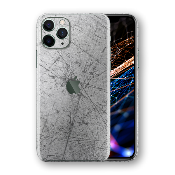 iPhone 11 PRO Print Printed SIGNATURE Aluminium Scratched Plate Skin, Wrap, Decal, Protector, Cover by EasySkinz | EasySkinz.com