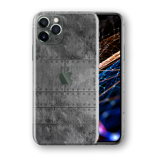 iPhone 11 PRO SIGNATURE Aluminium Fuselage Skin, Wrap, Decal, Protector, Cover by EasySkinz | EasySkinz.com
