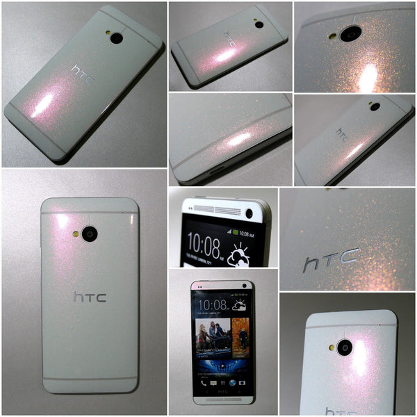 HTC ONE M7 STARDUST Effect Luxury FULL BODY Vinyl Wrap Decal Sticker Skin