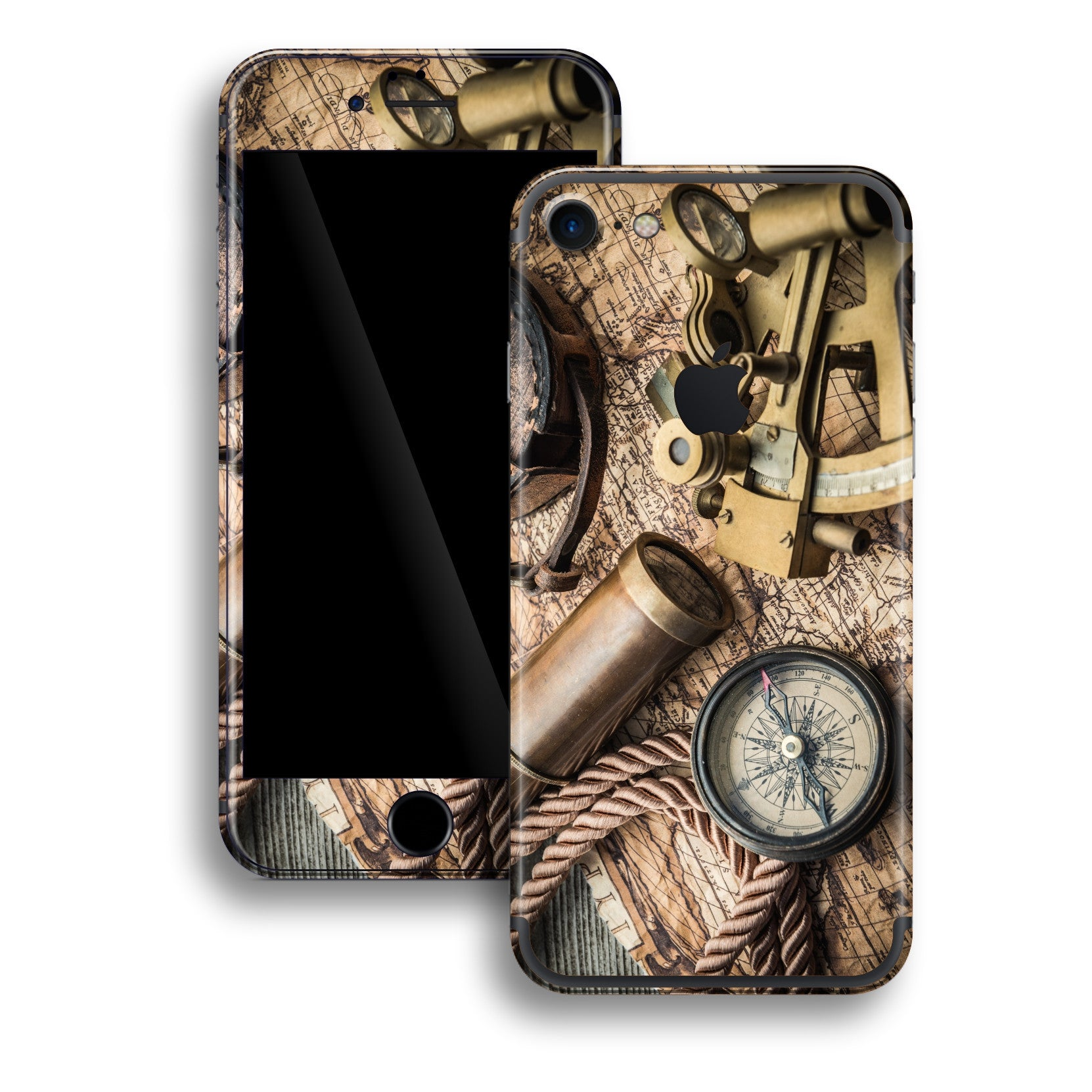 iPhone 7 Print Custom Signature Traveler Skin Wrap Decal by EasySkinz