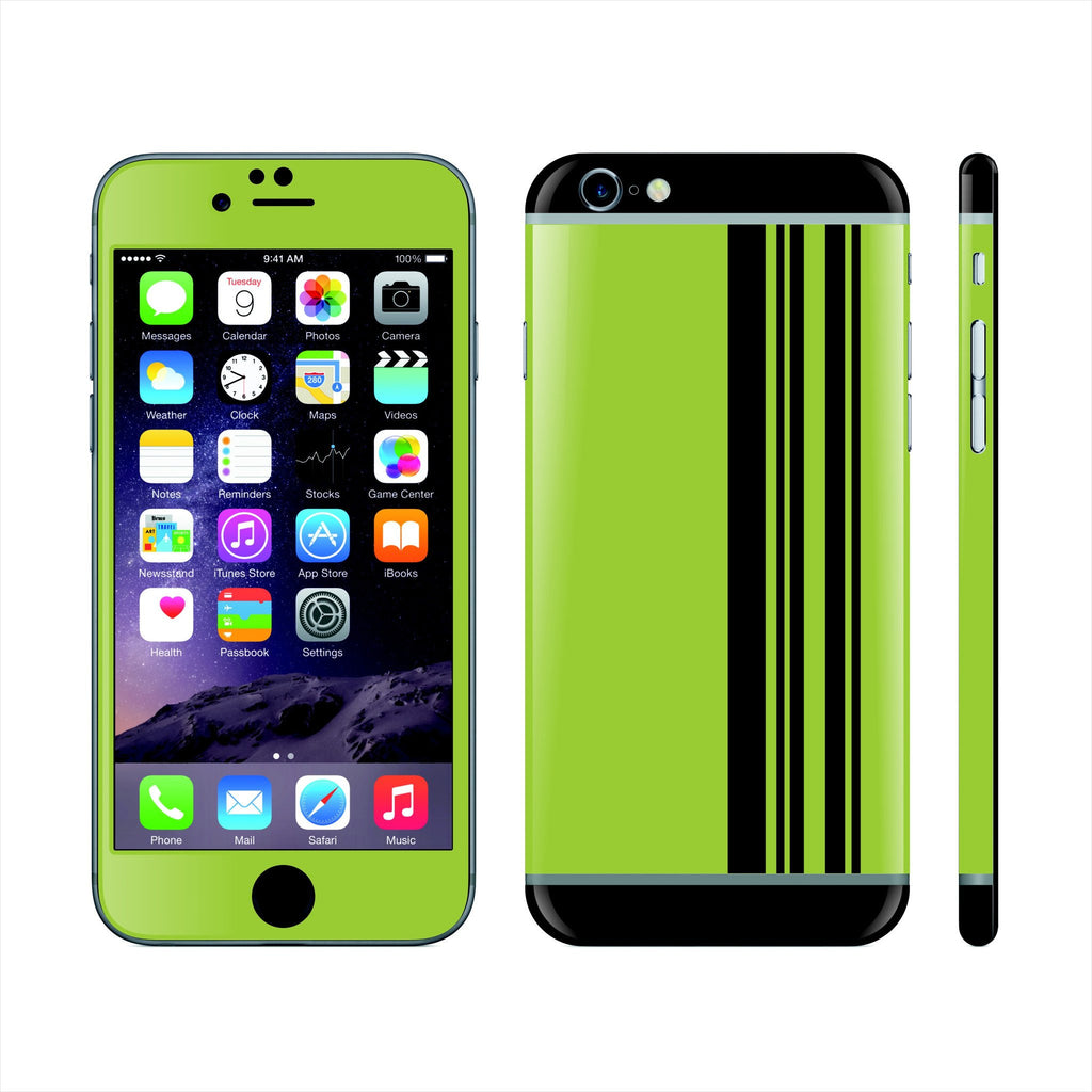 iPhone 6 Plus Custom Colorful Design Edition abstract lines 012 Skin Wrap Sticker Cover Decal Protector by EasySkinz