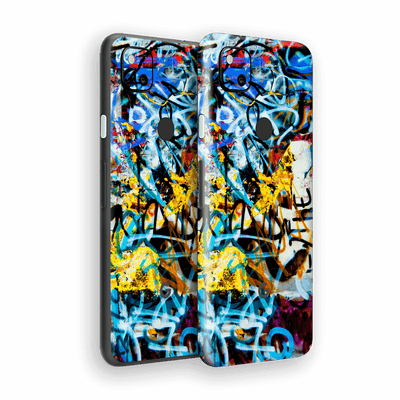Google Pixel 4a Print Printed Custom SIGNATURE Urban STREET ART Skin Wrap Sticker Decal Cover Protector by EasySkinz