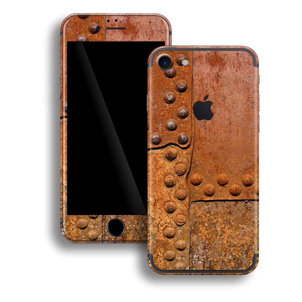 iPhone 7 Print Custom Signature Rust Skin Wrap Decal by EasySkinz