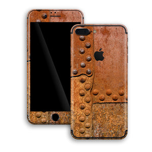 iPhone 7 PLUS Print Custom Signature Rust Skin Wrap Decal by EasySkinz