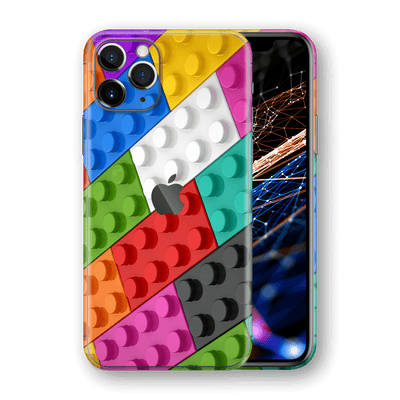 iPhone 11 PRO SIGNATURE Toy Construction Bricks Skin, Wrap, Decal, Protector, Cover by EasySkinz | EasySkinz.com