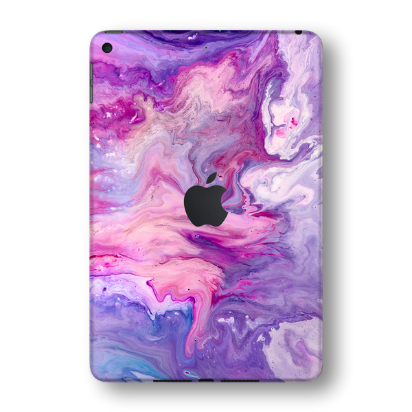 iPad MINI 5 (5th Generation 2019) SIGNATURE Abstract PURPLE Paint Skin Wrap Sticker Decal Cover Protector by EasySkinz