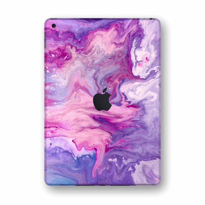 "iPad 10.2"" (8th Gen, 2020) SIGNATURE Abstract PURPLE Paint Skin Wrap Sticker Decal Cover Protector by EasySkinz"