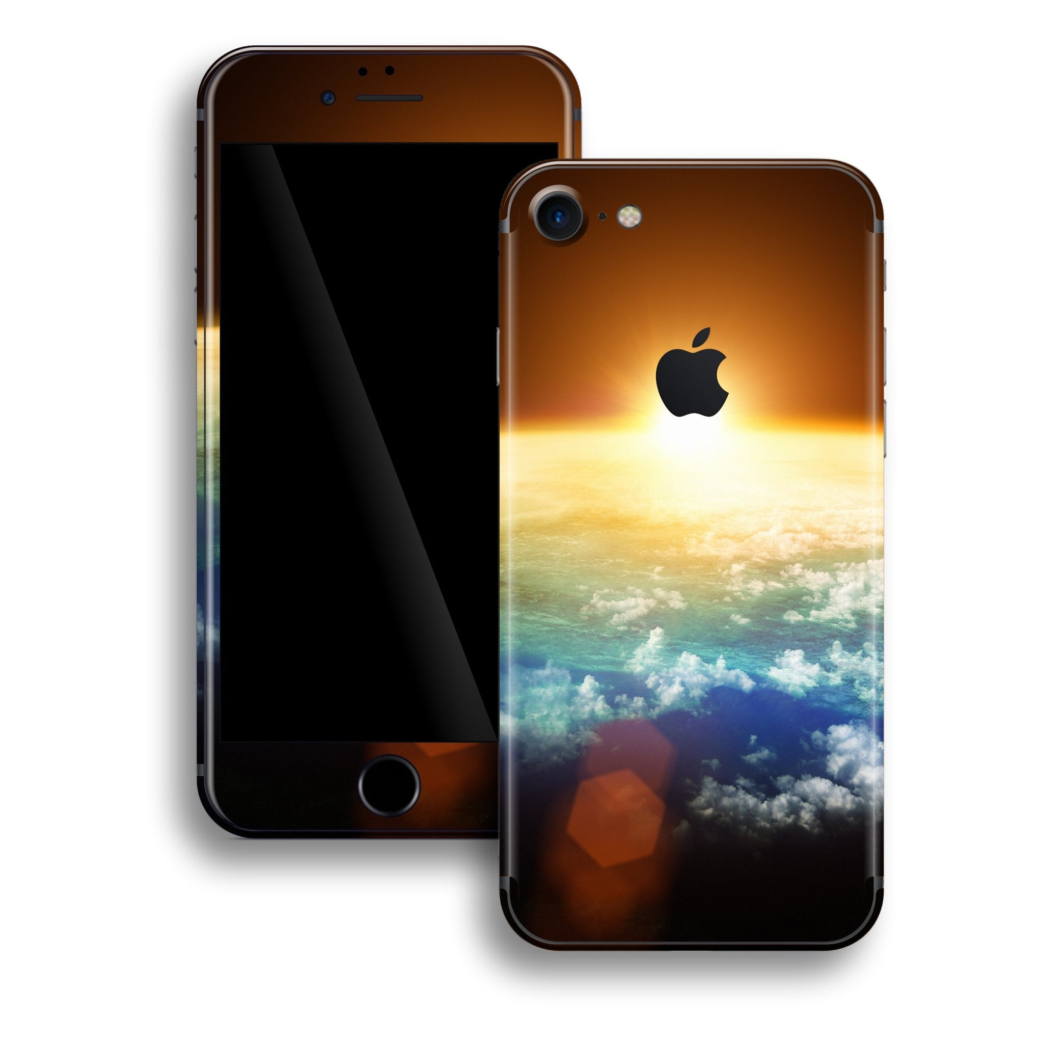 iPhone 8 Print Custom Signature Sunset Skin Wrap Decal by EasySkinz