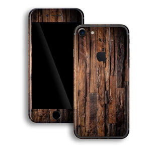 iPhone 7 Print Custom Signature Wood Skin Wrap Decal by EasySkinz