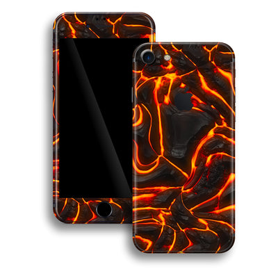 iPhone 8 Print Custom Signature Lava Skin Wrap Decal by EasySkinz