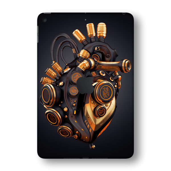 iPad MINI 5 (5th Generation 2019) SIGNATURE ROBOTIC HEART Skin Wrap Sticker Decal Cover Protector by EasySkinz