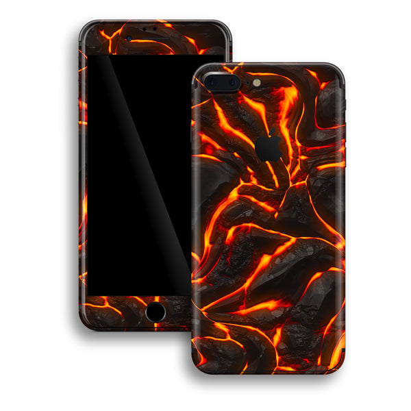 iPhone 8 PLUS Print Custom Signature Lava Skin Wrap Decal by EasySkinz
