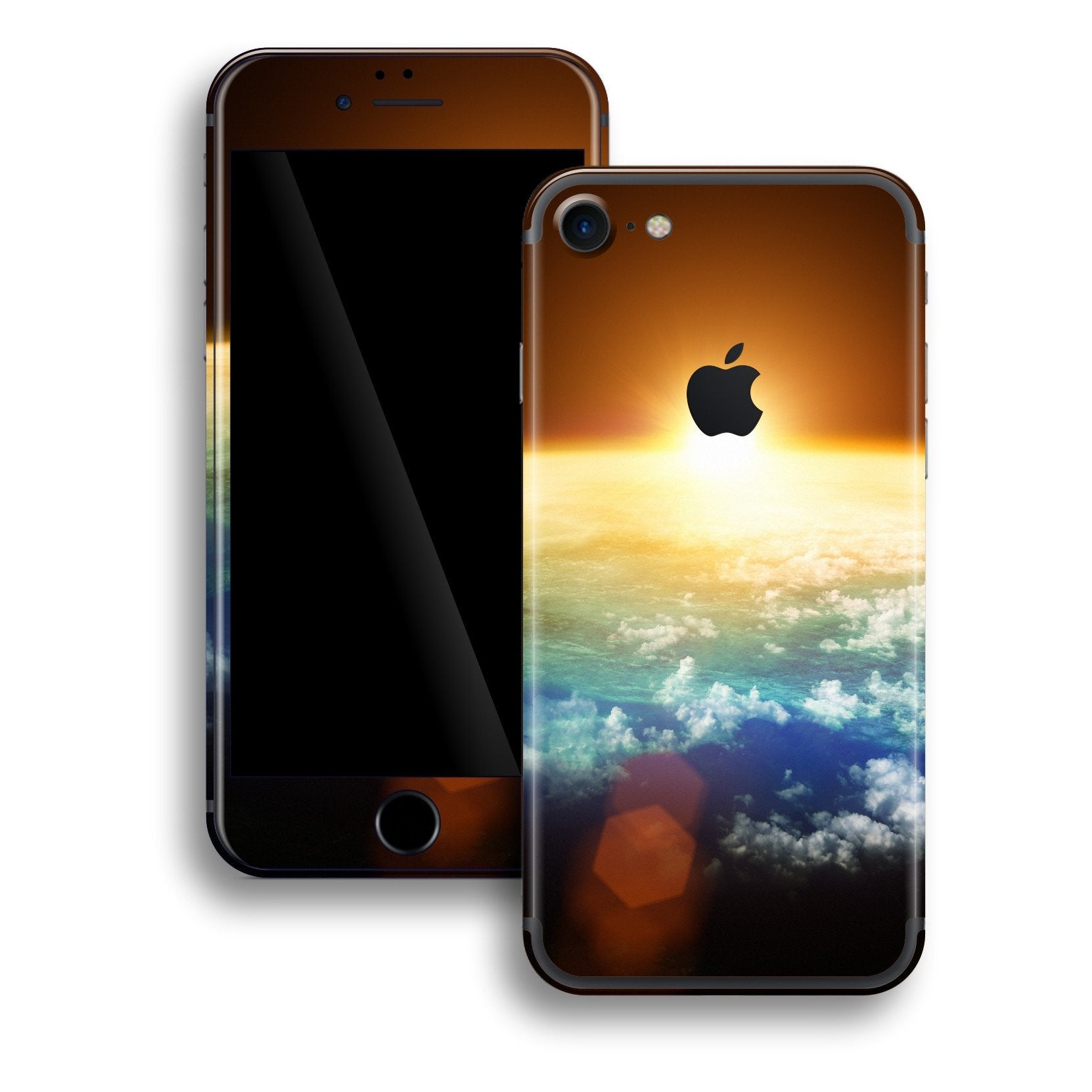 iPhone 7 Print Custom Signature Sunset Skin Wrap Decal by EasySkinz