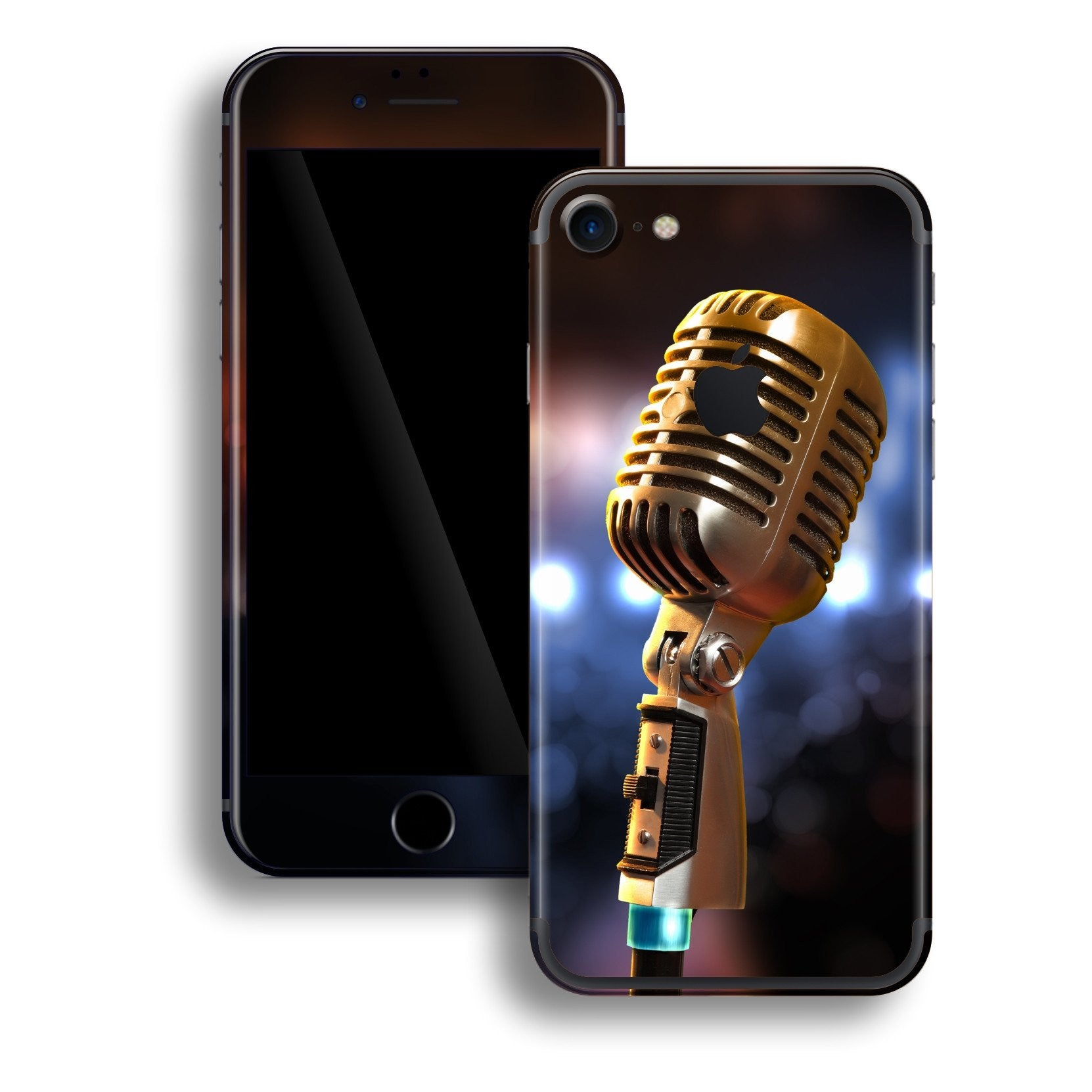 iPhone 7 Print Custom Signature Microphone Skin Wrap Decal by EasySkinz