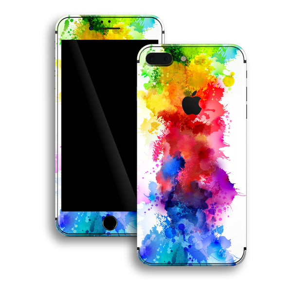 iPhone 8 PLUS Print Custom Signature Watercolour Skin Wrap Decal by EasySkinz