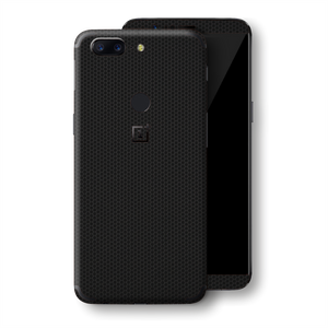 OnePlus 5T Black Matrix Textured Skin Wrap Decal 3M by EasySkinz