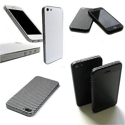 3D Textured CARBON Fibre Skin for iPhone 5S