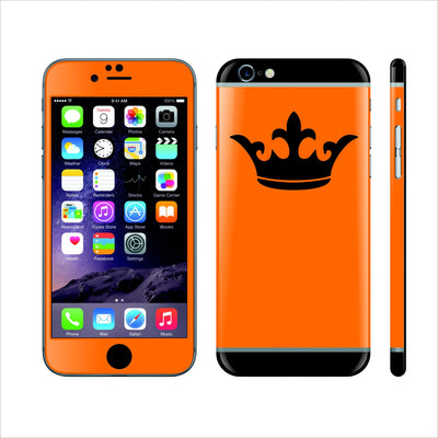 iPhone 6S Custom Design Crown Skin Wrap Decal Protector by EasySkinz