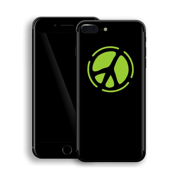 iPhone 8 Plus PEACE Sign Custom Design Skin, Wrap, Decal, Protector, Cover by EasySkinz | EasySkinz.com