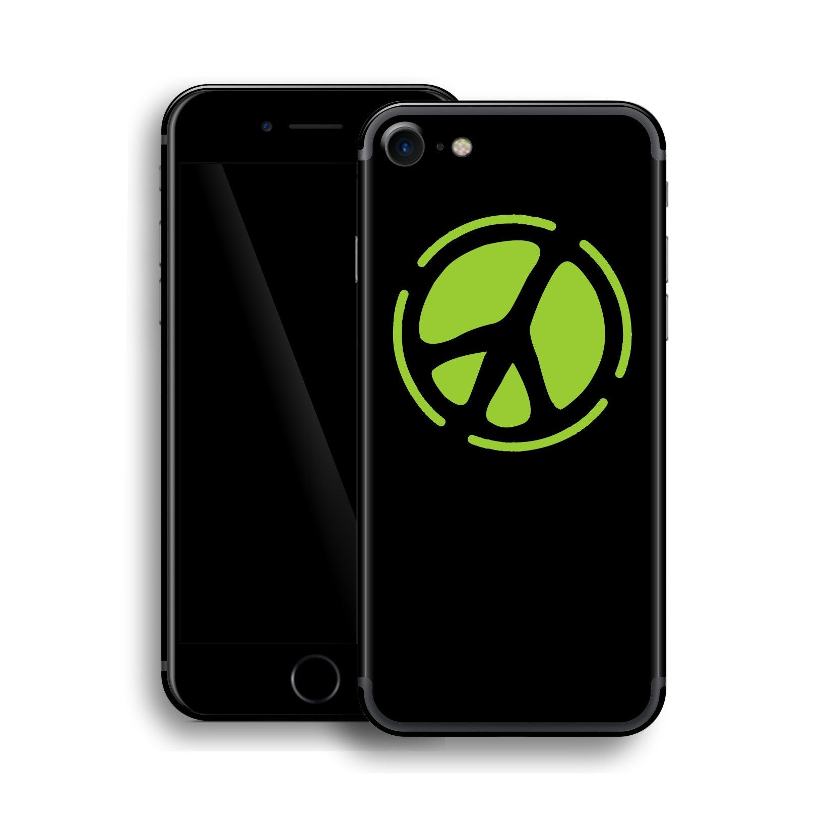 iPhone 7 PEACE Sign Custom Design Skin, Wrap, Decal, Protector, Cover by EasySkinz | EasySkinz.com