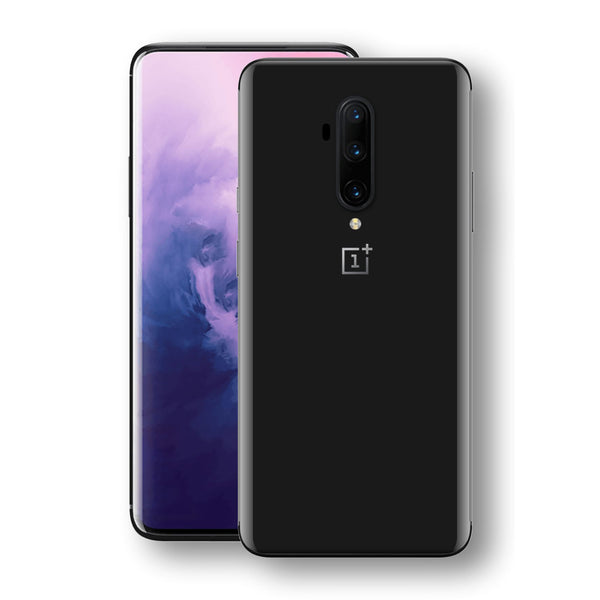 OnePlus 7T PRO Black Gloss Finish Skin, Decal, Wrap, Protector, Cover by EasySkinz | EasySkinz.com