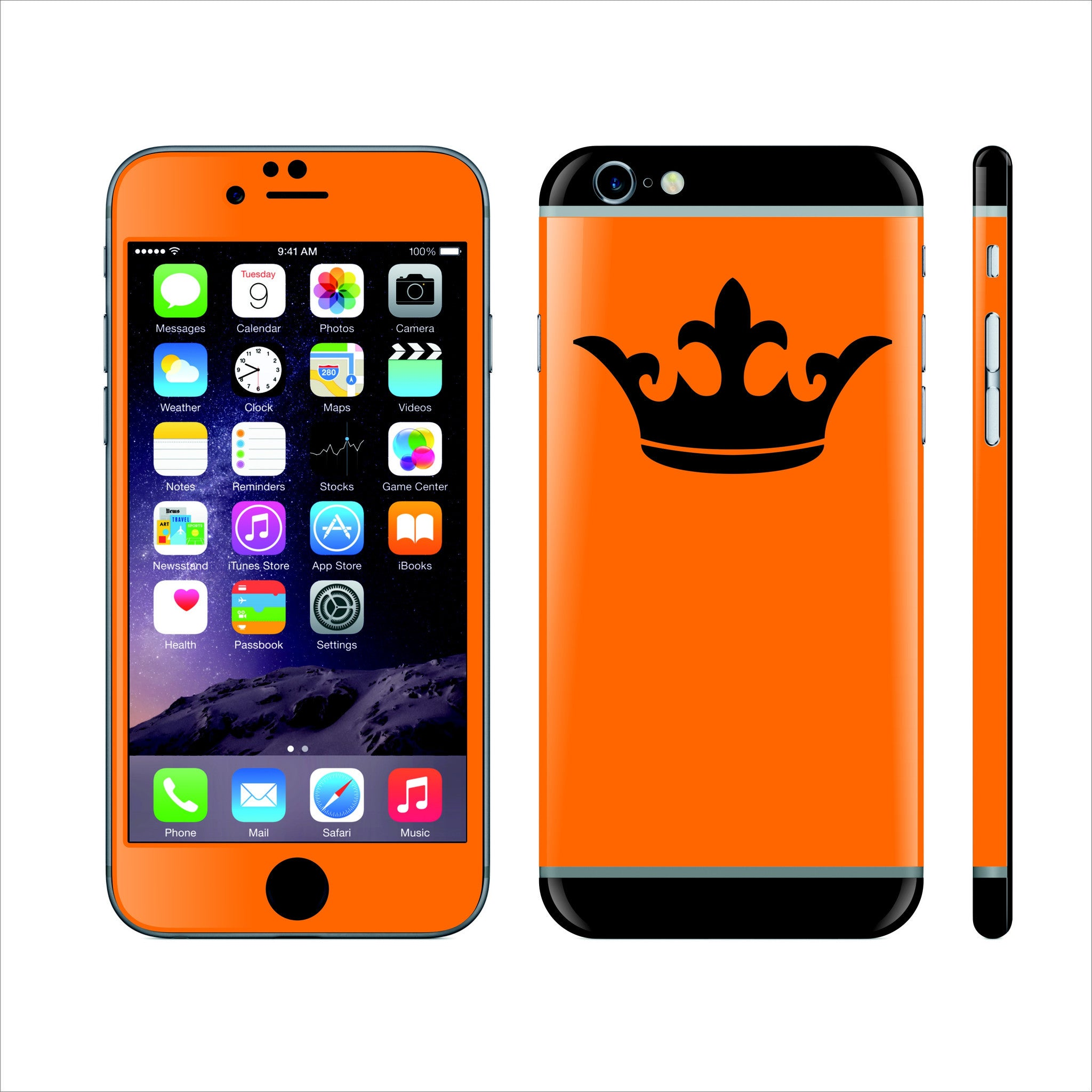 Build iPhone 6 CUSTOM COLORFUL Design Edition Skin - 001