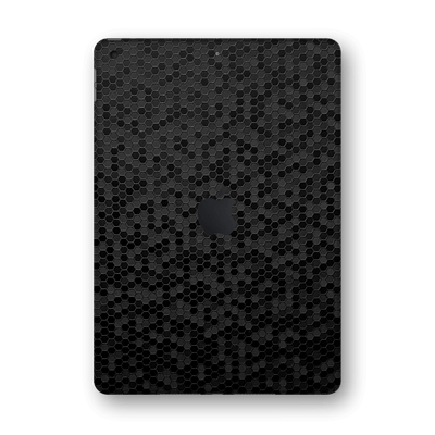 "iPad 10.2"" (8th Gen, 2020) Black Honeycomb 3D Textured Skin Wrap Sticker Decal Cover Protector by EasySkinz"
