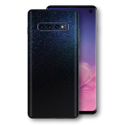 Samsung Galaxy S10 Glossy Midnight Blue Metallic Skin, Decal, Wrap, Protector, Cover by EasySkinz | EasySkinz.com